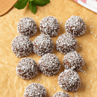 Coconut Peanut Butter Chocolate Fat Bombs