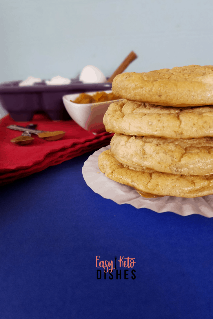 Easy Keto Pumpkin Pie Cloud Bread-just like pumpkin pie!