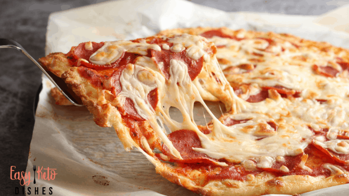 The BEST Keto Pizza Crust Recipe- Low Carb & Amazing