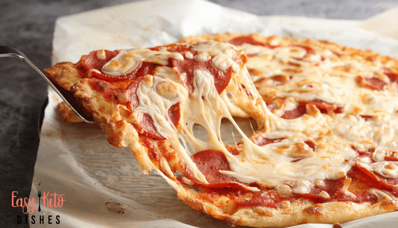 The Best Keto Pizza Crust Recipe Low Carb Amp Amazing