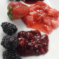 Berry-Goodness Toppings: Strawberry, Raspberry, Blueberry & Blackberry