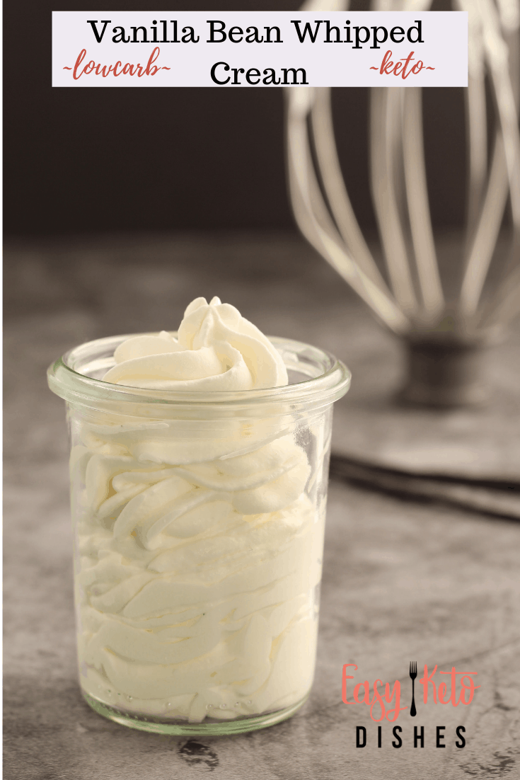 whipped cream in a jar