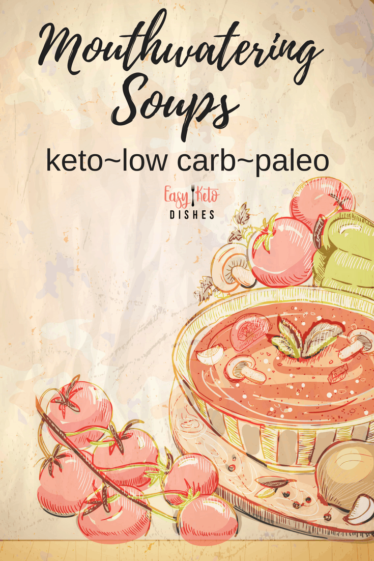 Soup is food not only for the body, but for the soul. When you want something that will satisfy your cravings for comfort food, but without the net carbs, soup will be your best friend. See all our delicious ketogenic soup recipes!