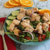 Cold Salmon Salad