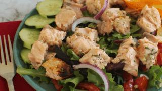 Cold Salmon Salad