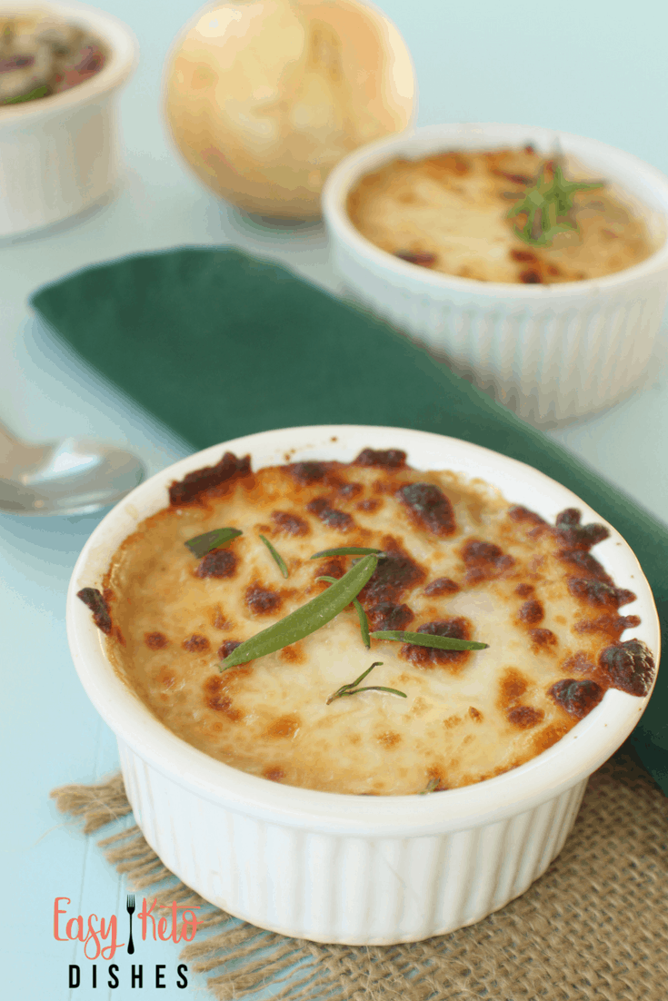 Need something light, filling, and yet satisfying? How about French onion soup? This mouthwatering, Americanized version is super quick to make and full of nourishing ingredients!