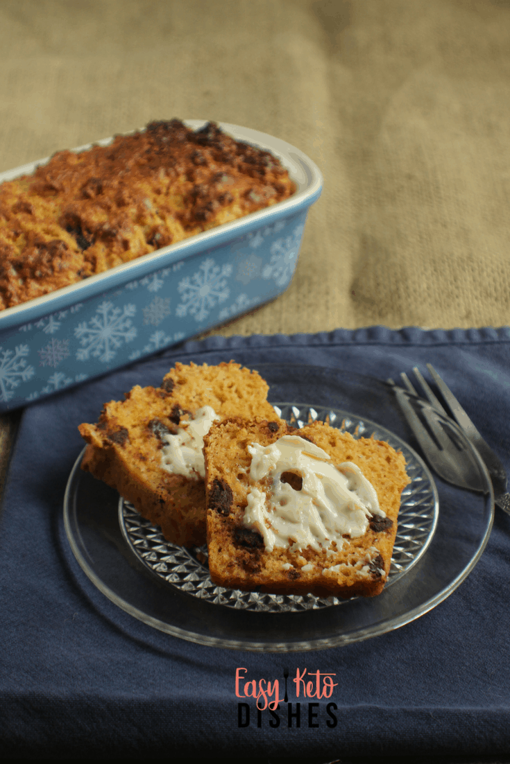 Need a snack or on the run breakfast? This peanut butter chocolate chip quick bread is a great option to make ahead and take on the go!