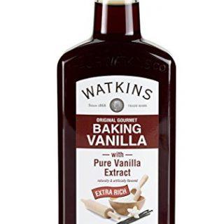 Watkins Original Gourmet Baking Vanilla Extract, with Pure Vanilla Extract, 11 Ounce (Packaging may vary)