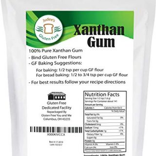 Xanthan Gum Gluten Free(8 oz) - USA Packaged & Filled - Dedicated Gluten & Nut Free Facility
