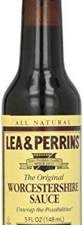 LEA & PERRINS Original Worcestershire Sauce 5 oz Bottle