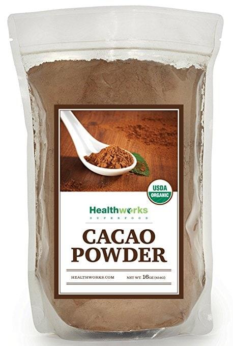 Healthworks Cacao Powder Organic, 1lb