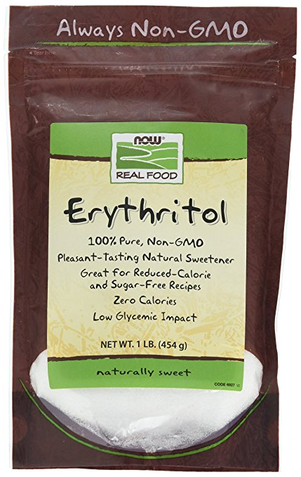 NOW Foods Erythritol Natural Sweetener, 1 lb