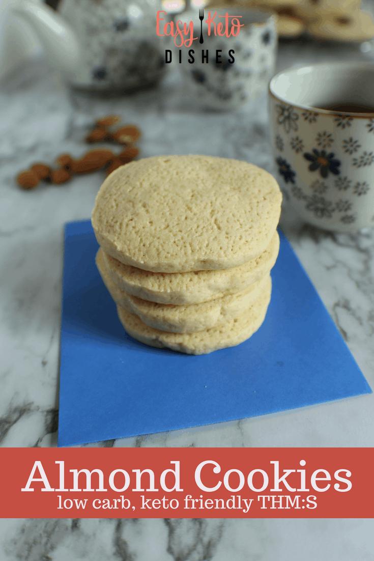 Almond Cookies- keto friendly, low carb, THM:S