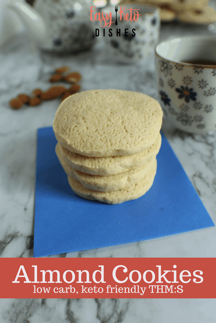 Light, crispy and a perfect afternoon treat, these keto almond cookies will satisfy your sweet tooth cravings without the guilt!