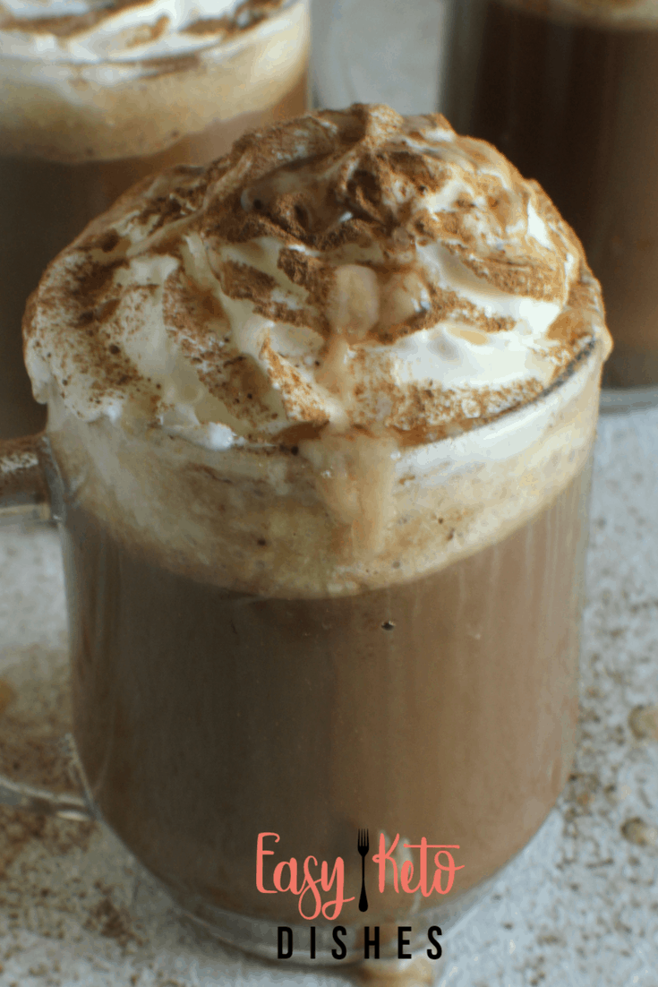 Salted Caramel Mocha (low carb, keto friendly, THM:S)