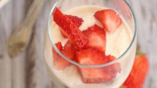 Strawberry Ricotta Cups