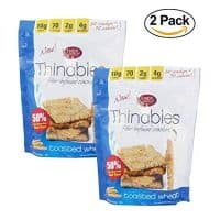 Fiber Gourmet, Thinables, Low Carb Crackers, 6 Oz.(PACK OF 2)
