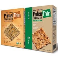 Paleo & Primal Thin Crackers) (Salt & Pepper & Parmesan) (Organic, Low Carb, Gluten Free, Grain Free)(Variety 2 Pack)