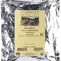 Starwest Botanicals Organic Garlic Powder, 1 Pound