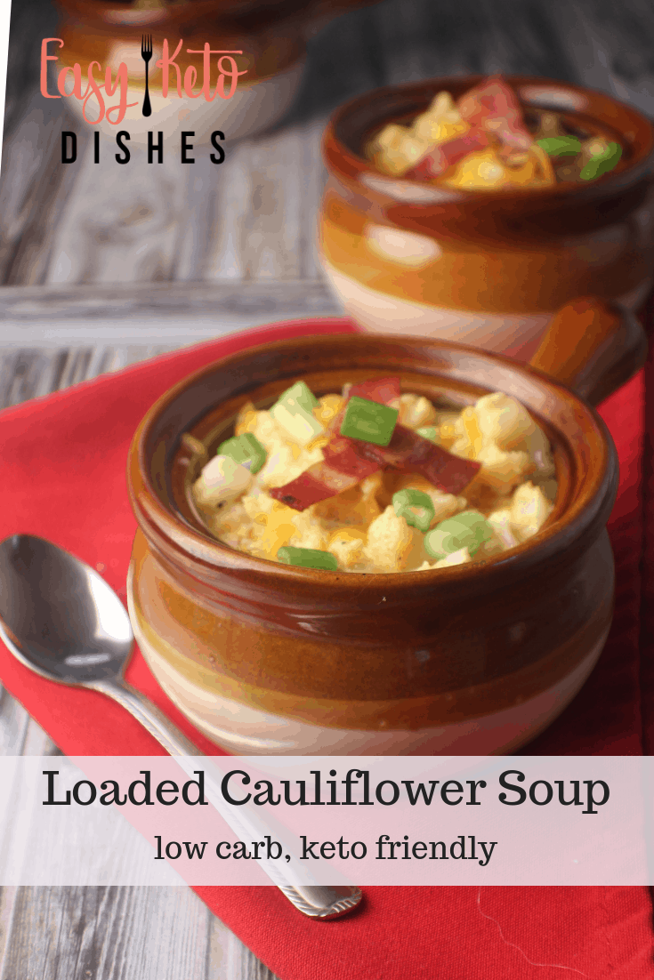 Rich, creamy and satisfying, this loaded cauliflower soup will make sure you never miss potatoes again!   #diy #jerf #eatclean#foodie #foodlovers #frenchmanapproved#healthylifestyle #spices #foodporn#fooddiary #foodblogger #instantpot#pressurecooking #instantfood#realfoodrealquick #diy #jerf #eatclean #foodie #foodlovers #frenchmanapproved  #healthylifestyle #spices #foodporn #fooddiary #foodblogger #sourdough #healthyliving