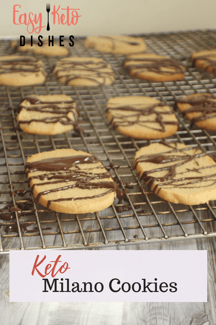 low carb Milano cookies