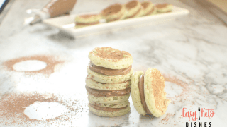 Keto Mint Chocolate French Macaroons