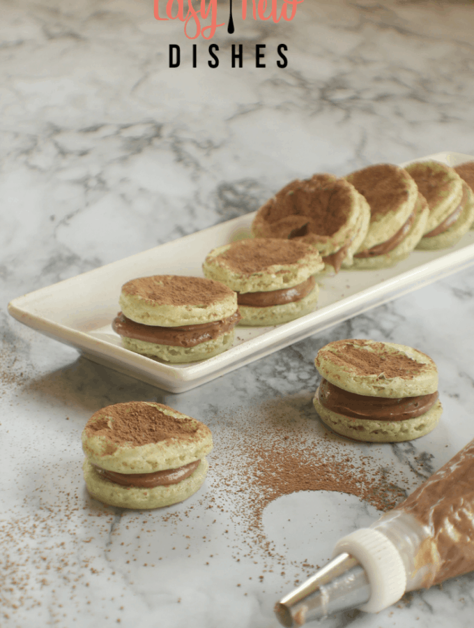 keto low carb French macaroons