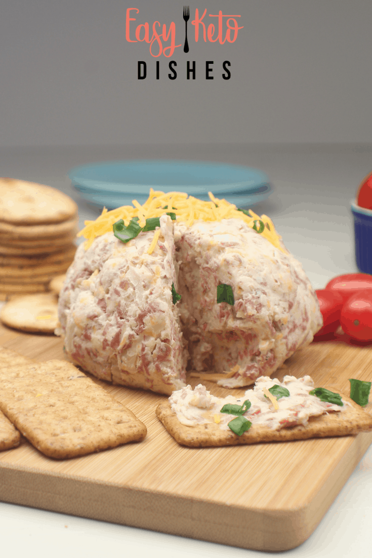 easy party cheeseball-low carb, keto