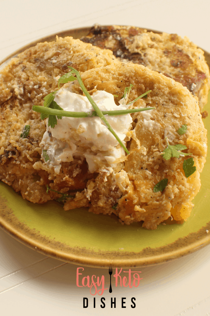 low carb potato pancakes