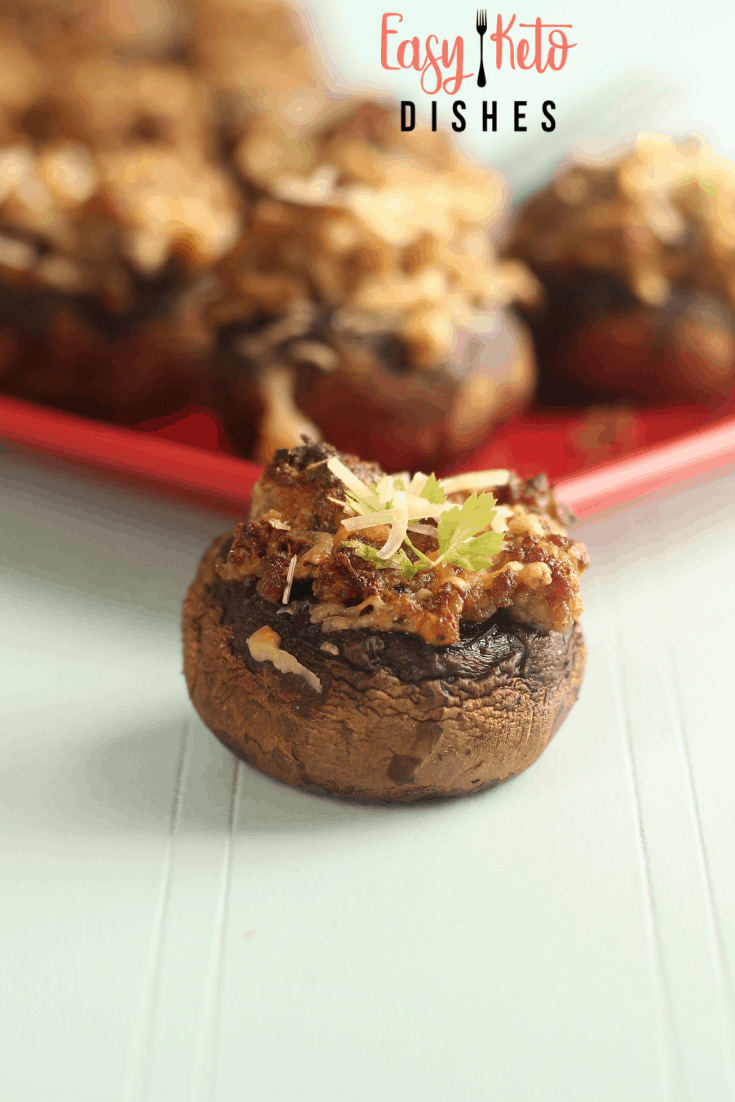 low carb stuffed mushrooms