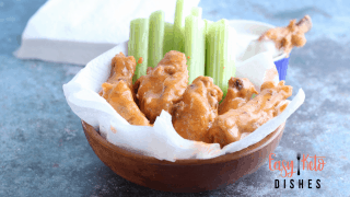 Easy Buffalo Wings {Instant Pot}
