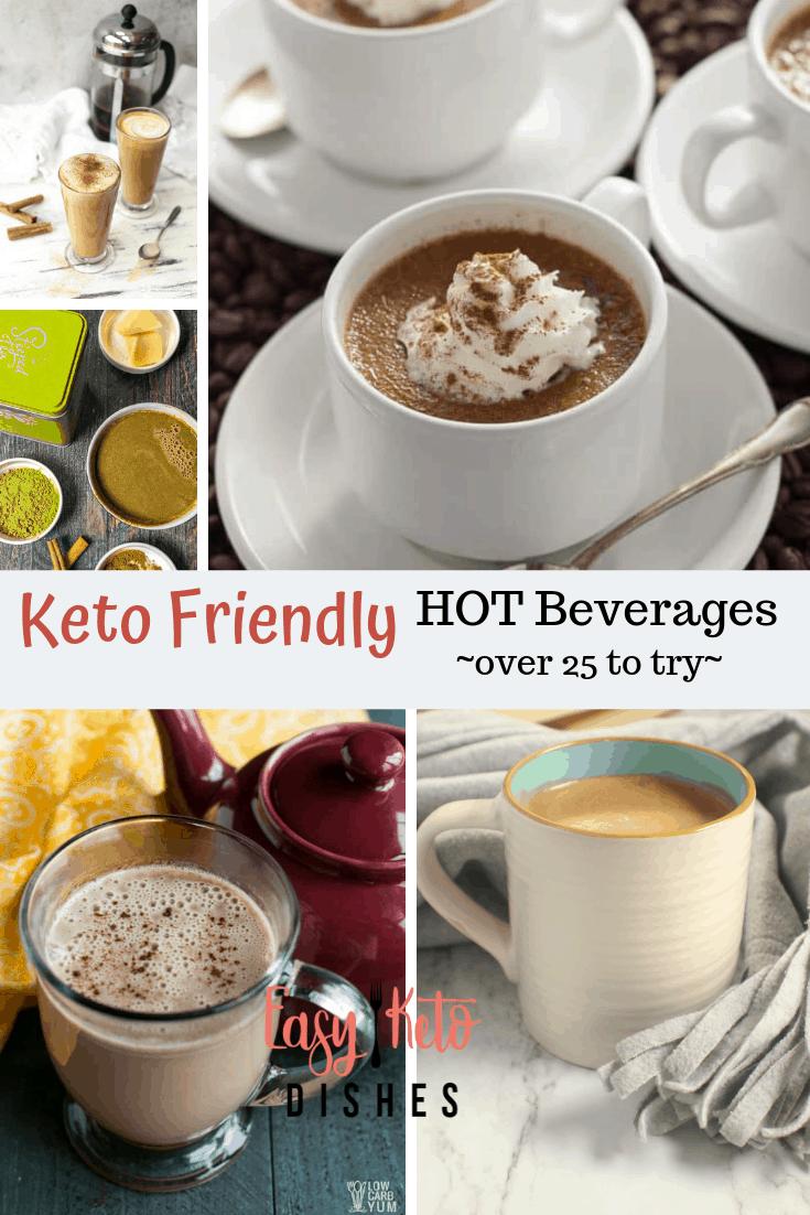 keto friendly hot beverages