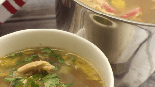 Homestyle Chicken Zoodle Soup