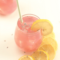 Lavender Lemonade (keto, low carb, paleo)