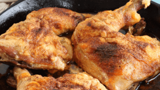 Crispy Chicken Quarters