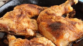 Crispy Chicken Quarters