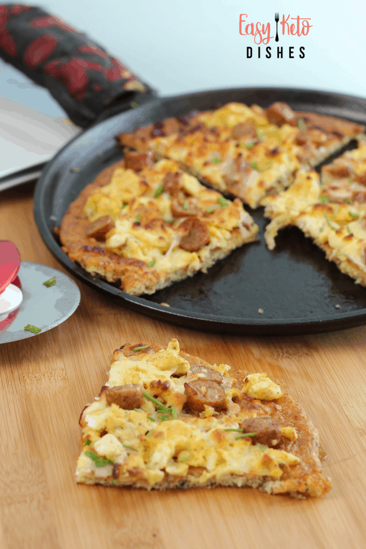 keto breakfast pizza