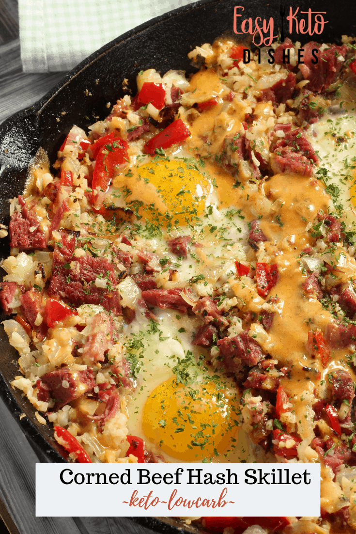 keto corned beef hash breakfast skillet