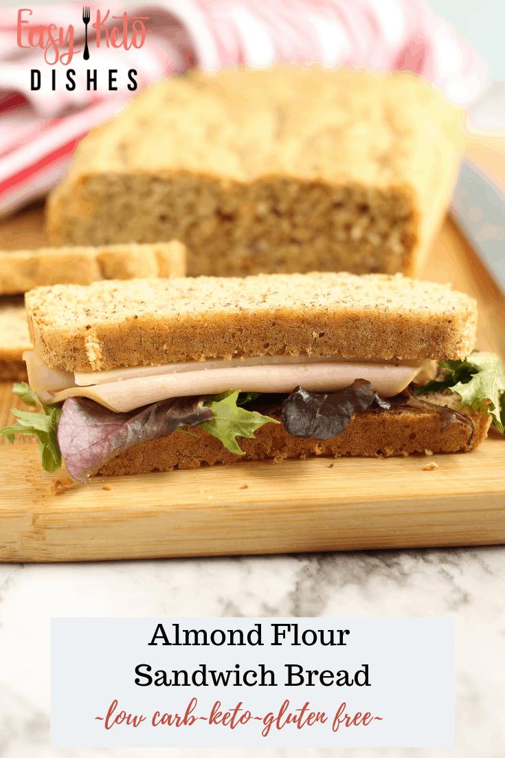 turkey swiss sandwich on keto bread