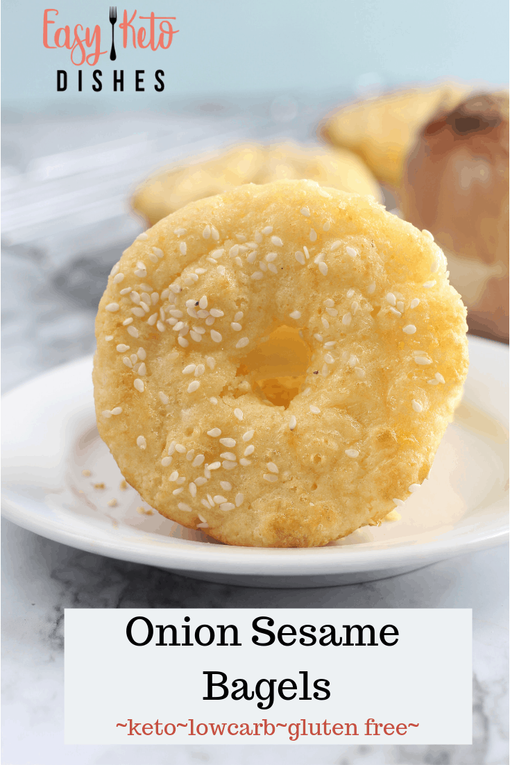 keto onion bagel