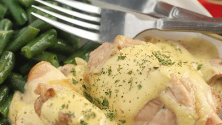 Chicken Cordon Bleu (keto, low carb)