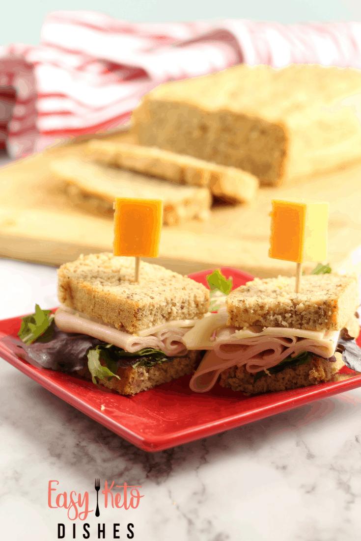 keto almond flour sandwich bread