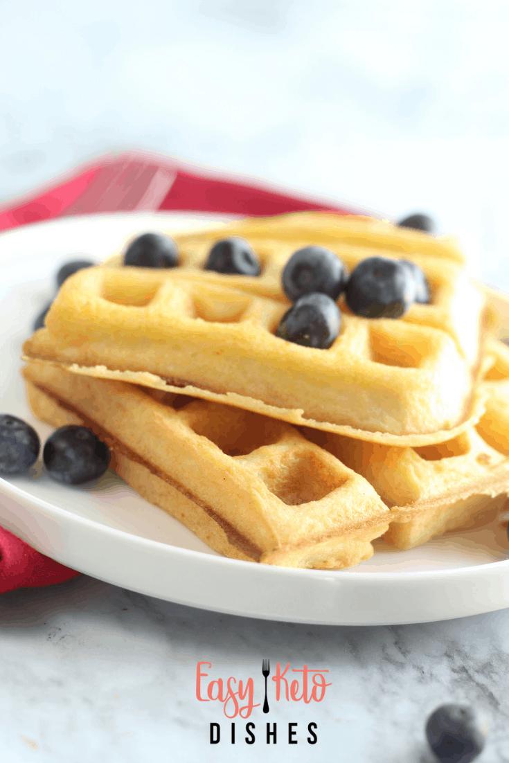 keto gluten free dairy free waffles