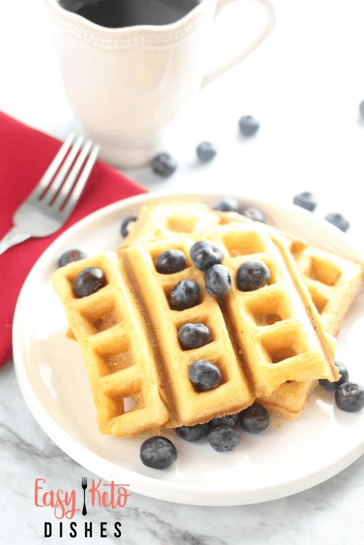 keto dairy free gluten free waffles
