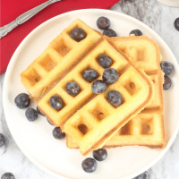 Keto Waffles With Almond Flour (low carb, keto, dairy free, paleo)