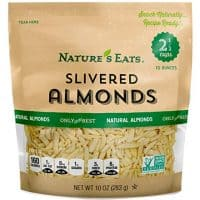 Nature's Eats Blanched Slivered Almonds, 10 Ounce