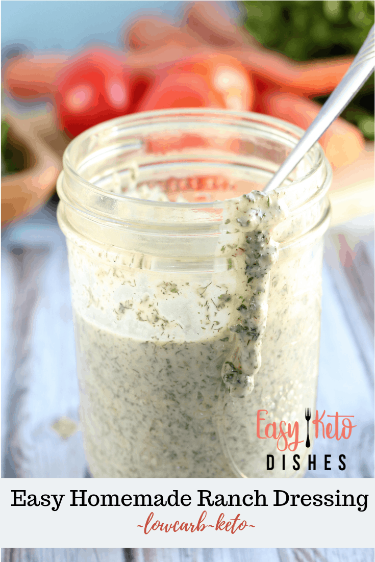 keto friendly ranch dressing