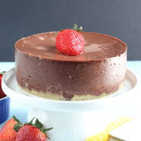 Instant Pot Keto Chocolate Cheesecake