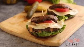 Portobello Meatloaf Sandwiches (keto, gluten free)