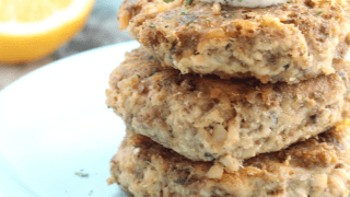 Salmon Patties (low carb, keto)
